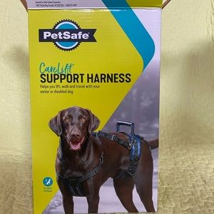 Large full support dog harness